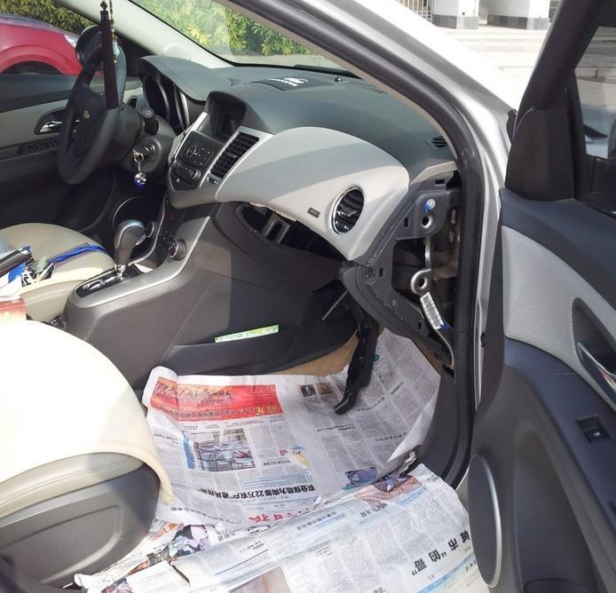 格瓦斯特   :                 #车主社区#【自己动手修复科鲁兹空调